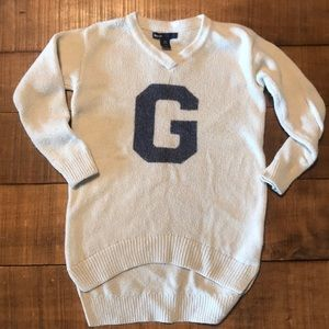 Girls Gap High Low Sweater